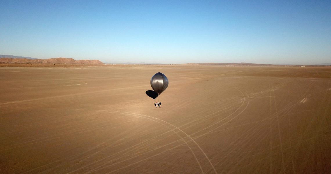 Where will the next stop of the balloon used by NASA to detect the California earthquake? -It may be Venus