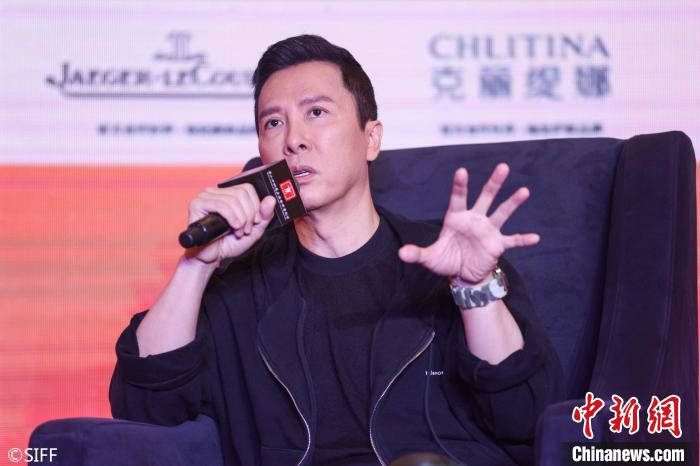 """Action movie star Donnie Yen: On the big screen, how do you aspire to the """"jianghu""""?"""
