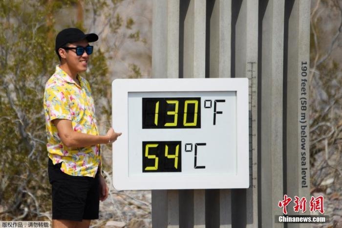 54.4°C! Extreme heat waves raging, California's Death Valley welcomes astonishing heat