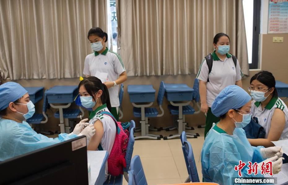 Guangdong has fully launched the new crown vaccination for people aged 12-17