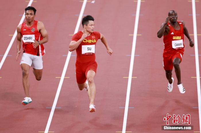 Chinese women's 100-meter and 800-meter consecutive set history Su Bingtian advances to the semi-finals of the 100-meter