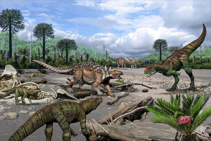 The diversity of Cretaceous reptile fossils in Argentina is surprising