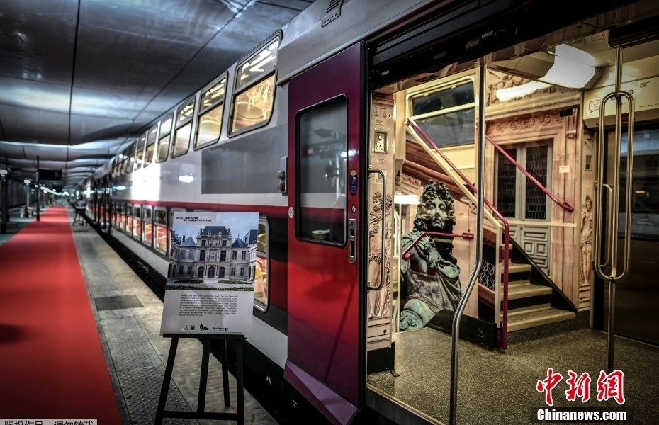 """Paris Metro turns into an immersive """"Museum"""" commuter, which has become a romantic art since then"""