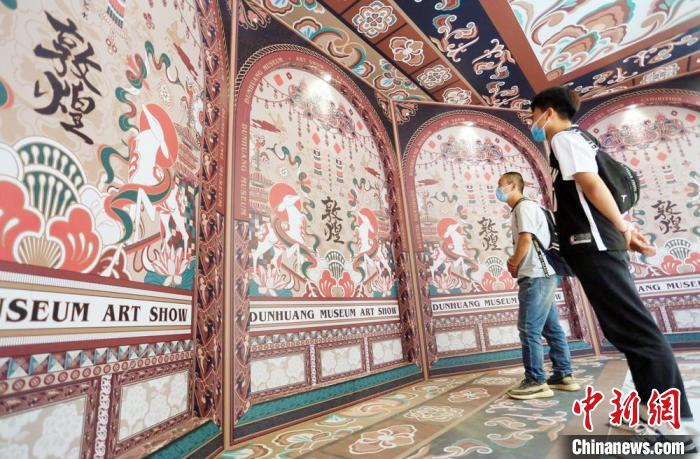 """Thousand-year flying cross-border """"out of the circle"""" national tide Dunhuang """"country taste"""" Z generation"""