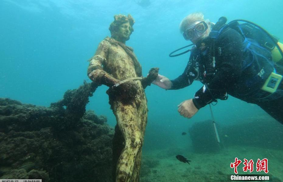Feel the glory of the seabed! Visit the underwater ruins of Baya in the Roman era in Italy