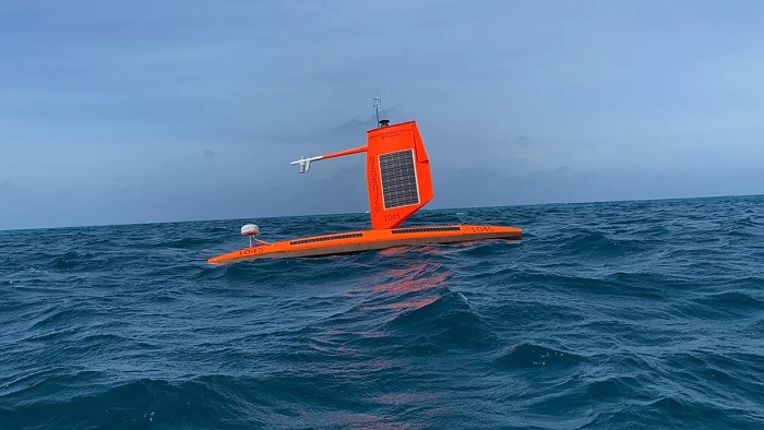 Saildrone shares the unique perspective of storm center to observe hurricane Sam