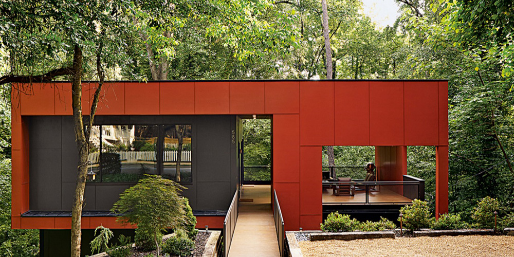 Affordable Modern House By Dencity. [Lewin Residence By Dencity Architects.  Photo Courtesy Dwell.]