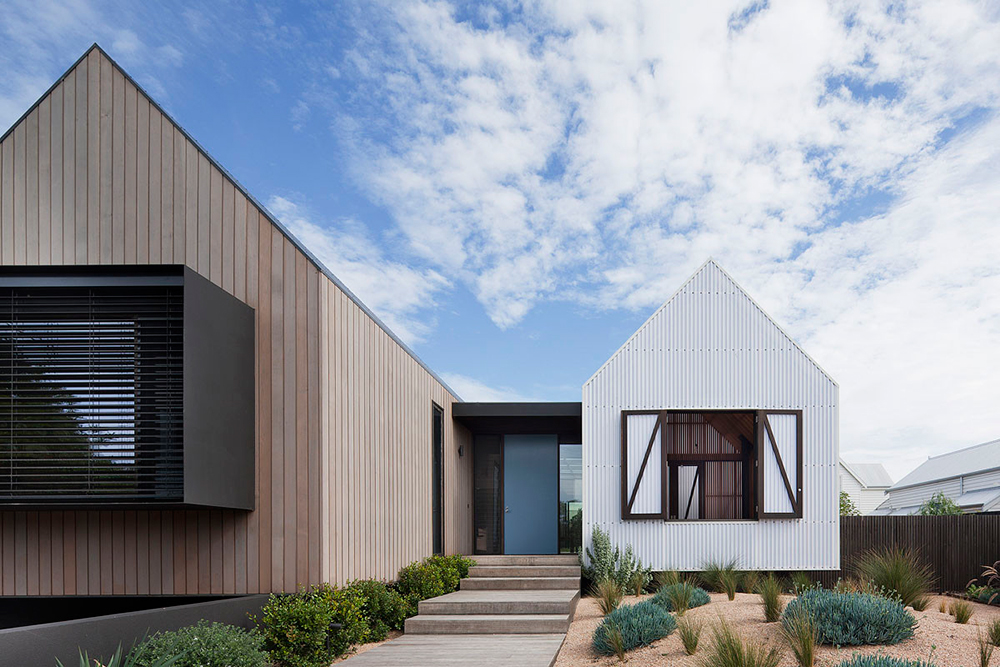 Simple modern roof designs Define contemporary country