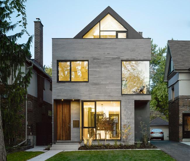 Modern Gable Flat Roof Hybrid