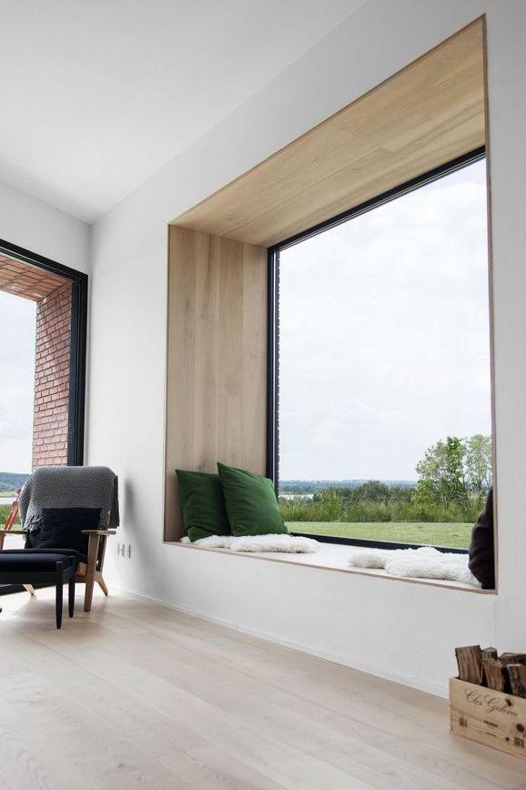 5 Simple Modern [Interior] Window Trim Details   Thin Trim