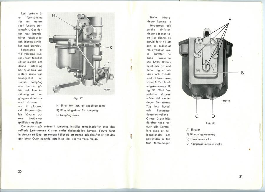 Instruksjonsbok BM VOLVO 425.