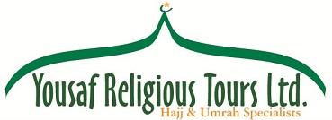 Yousaf Religious Tours Logo