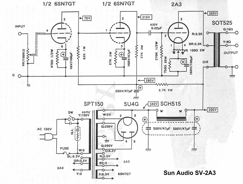 Re: schematics for SET with VT25 or 45 wanted...please