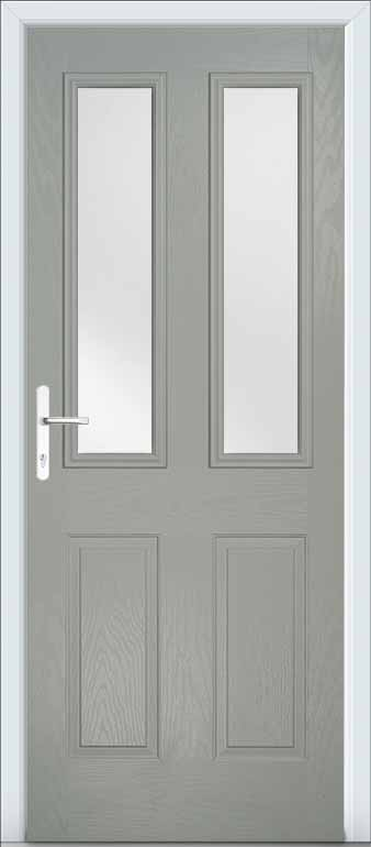 Yorkshire Specialist Coatings Composite door colours  Anthracite Grey  Spray painting uPVC