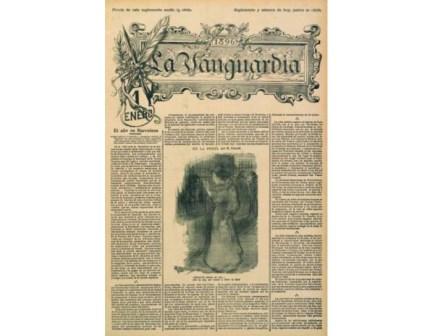 El diario La Vanguardia antes de cambiar