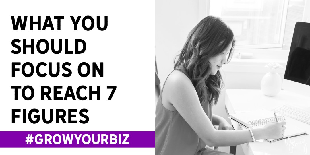 The Only Activities You Should Focus On to Reach 7 Figures in Sales