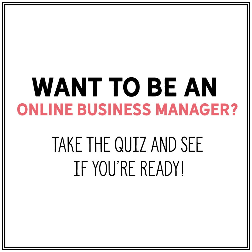 Want to be an Online Business Manager?
