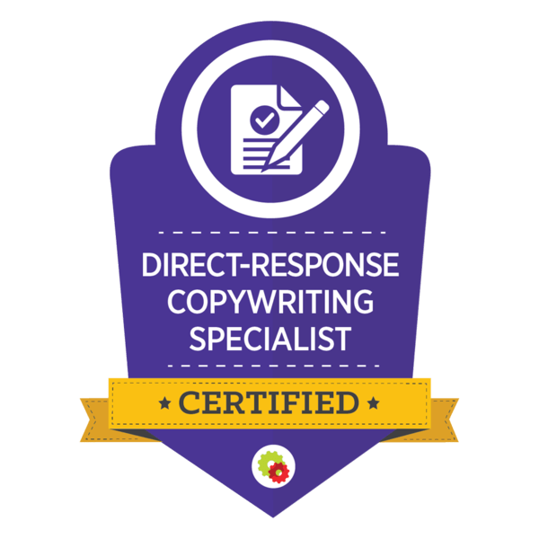 Direct Response Copywriting Specialist: Certified