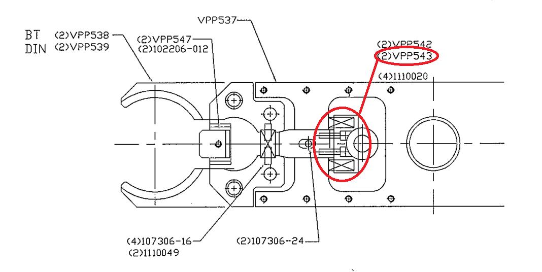 FIXED BLOCK FOR ATC ARM