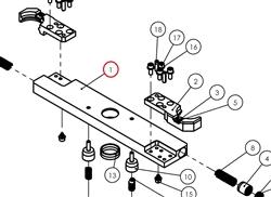 DETA CAT40 ATC SWING ARM ONLY (A40C-0001B08)