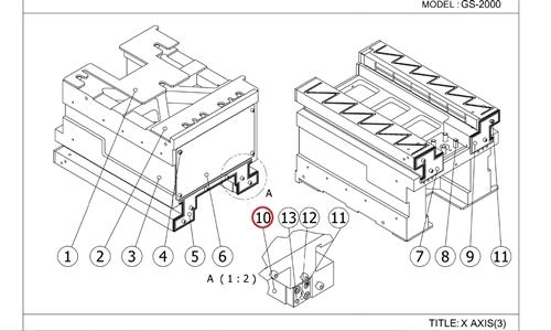 X-AXIS: GS-2000 SERIES: X-AXIS WIPER