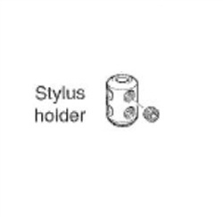TS27R STYLUS HOLDER W/4 SET SCREWS