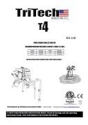Yorkshire Spray Services Ltd - TriTech T4 Manual