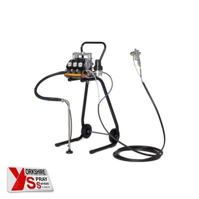Yorkshire Spray Services Ltd - Zip 52 Alu Finish SP5 Spray Pack & Trolley