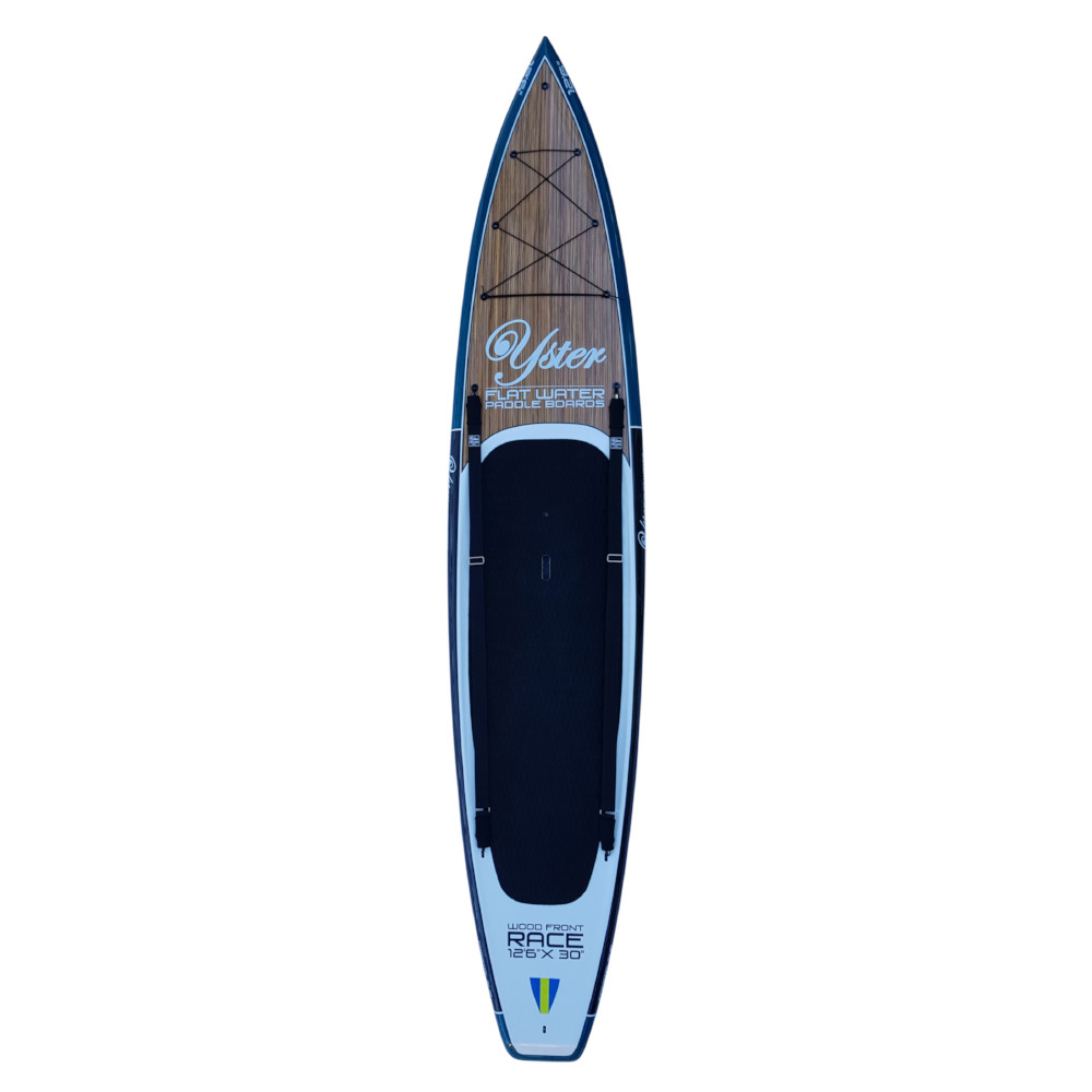 Double Yster SUP Carry strap & Grab tightened on board
