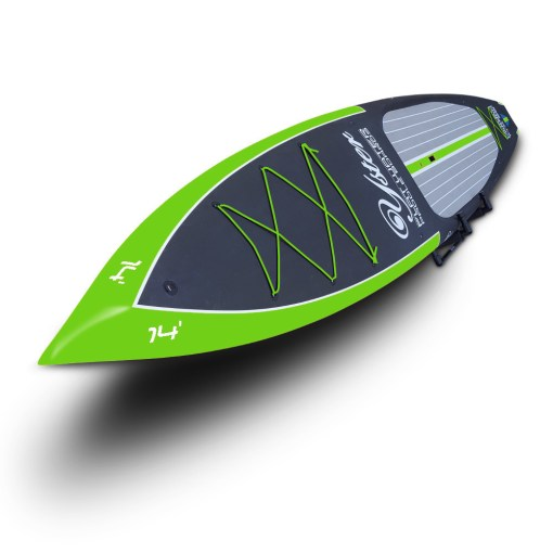 Yster SUP 14x28 Naked Carbon Nose
