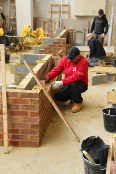 Bricklaying course at YTA