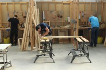 Carpentry & Joinery course in action
