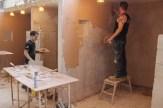 weekend plastering course