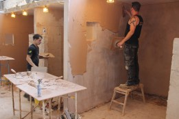 weekend plastering course