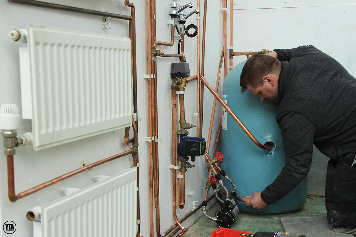 YTA Plumbing course heating system