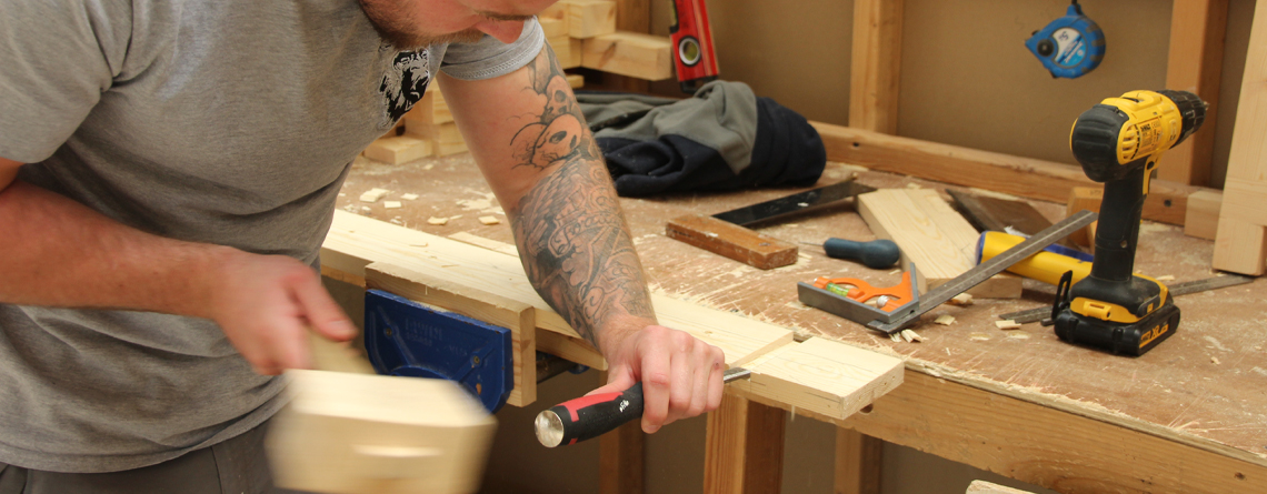 Could an NVQ Level 2 carpentry diploma be yours through the EWPA route?
