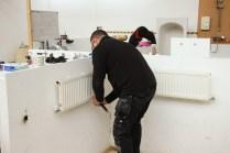 Plumbing in a radiator