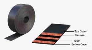 Frasor rubber elevator belt