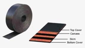 oil resistant elevator belt