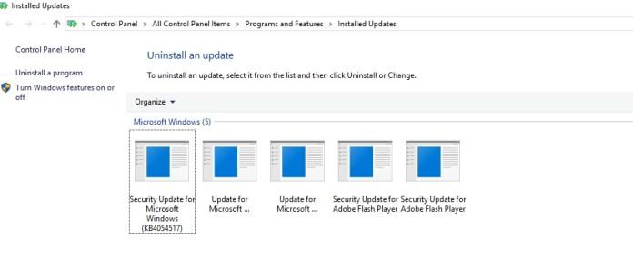 windows update not working