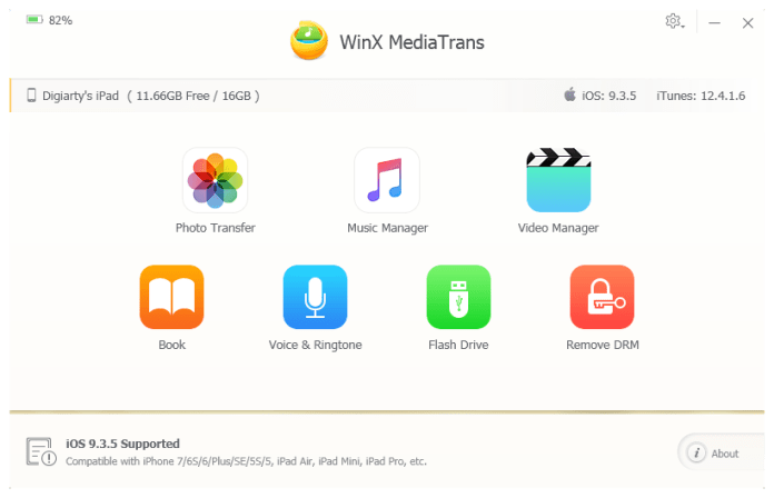 WinX MediaTrans - best itunes alternatives