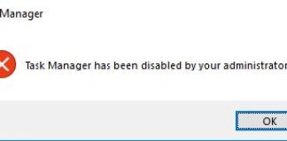 "Fix ""Task Manager has been disabled by your Administrator"""