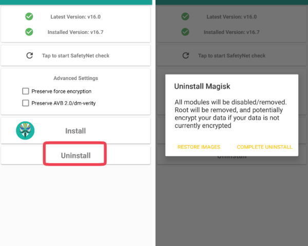 install magisk manager on android phone