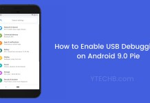 enable usb debugging on android 9.0 pie