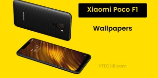 Download Xiaomi Pocophone F1 HD Wallpapers YTECHB - Android Tips