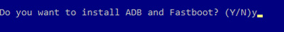 ADB and Fastboot drivers
