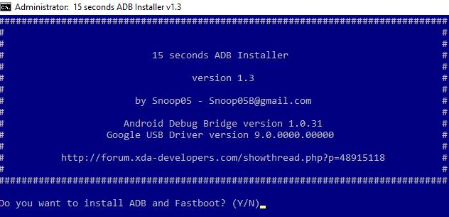 Install ADB & Fastboot Driver
