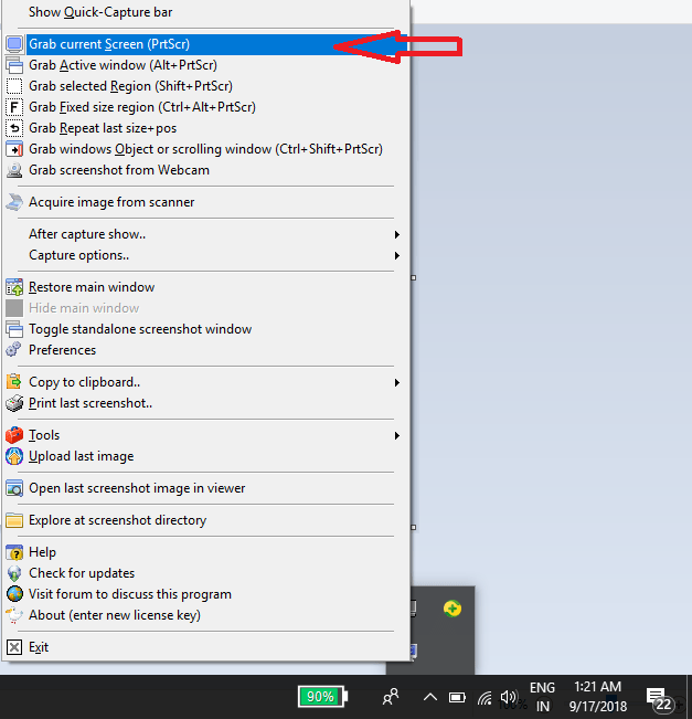 how to take a screenshot on pc