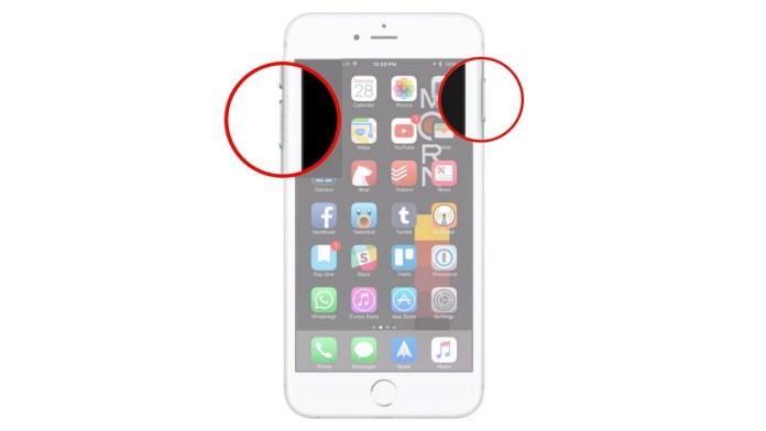 iphone black screen spinning
