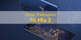 Xiaomi Mi Mix 3 Stock Wallpapers